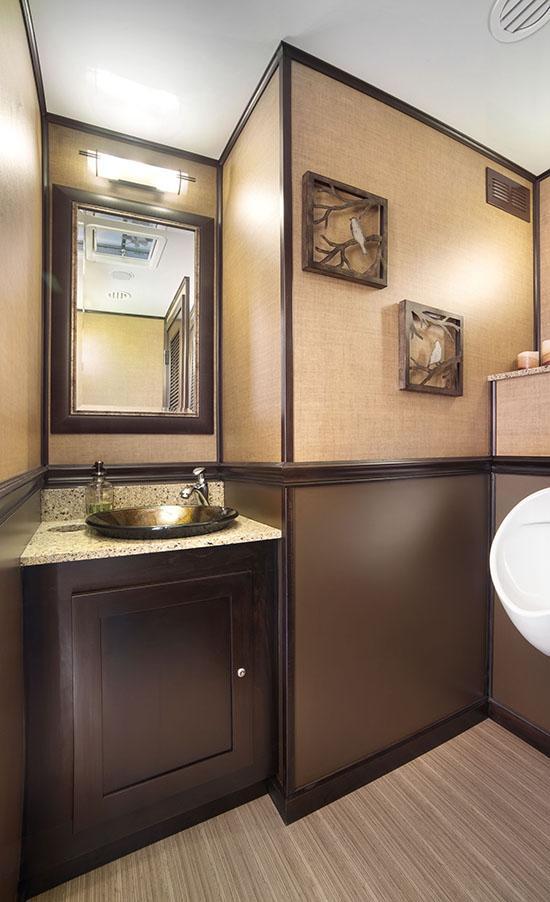 Portable Restrooms Clear Creek Disposal - Luxury portable bathrooms